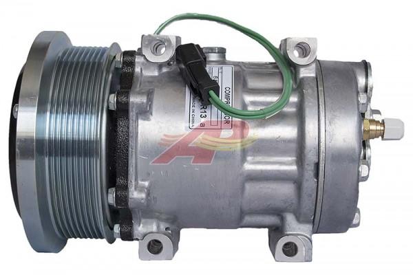 Klimakompressor Caterpillar Sattelschlepper, Holzerntemaschine, 2777245, 1630872