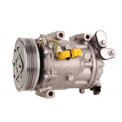 Klimakompressor, Citroen, Peugeot, Renault, 6453WX, 6453WW, 6453RE, 9800840380, 6453SP, 9660555380